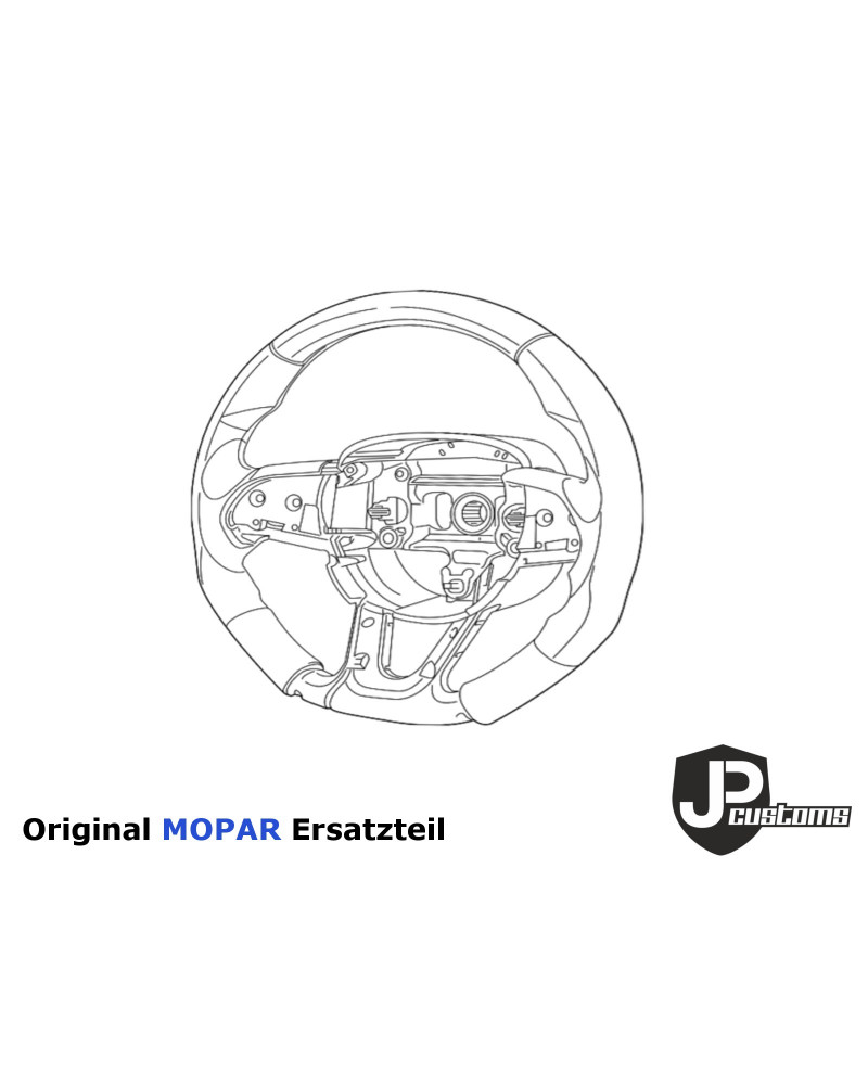 K05303741AL ORIGINAL MOPAR Scheinwerfer Links EU Version